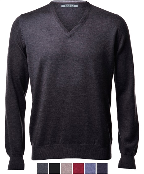 Knitwear classic V - neck regular fit
